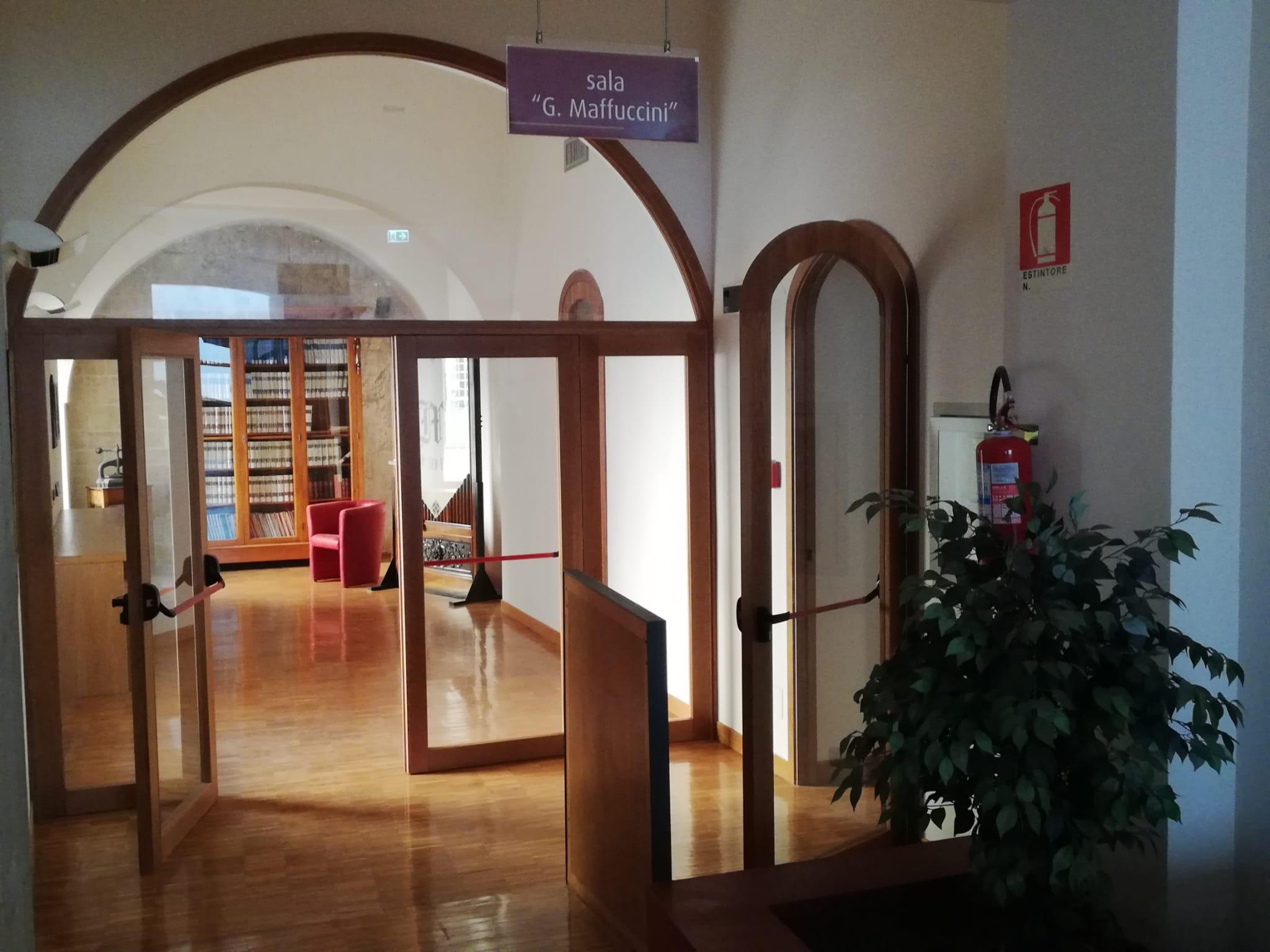 Biblioteca comunale, continuano i lavori di adeguamento ...